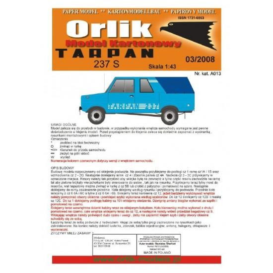A013. Tarpan 237S