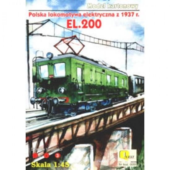 EL.200  - Polska lokomotywa elektryczna z 1937 r.