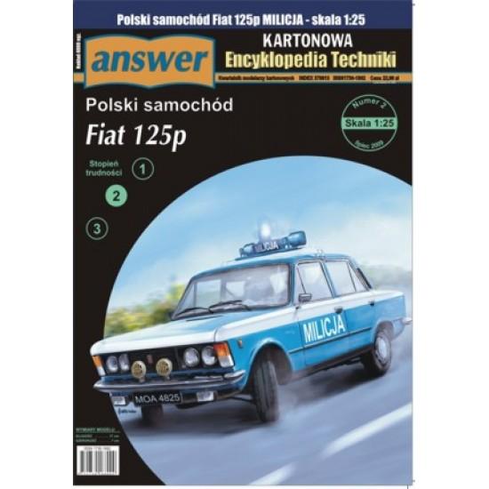 Samochód Fiat 125P