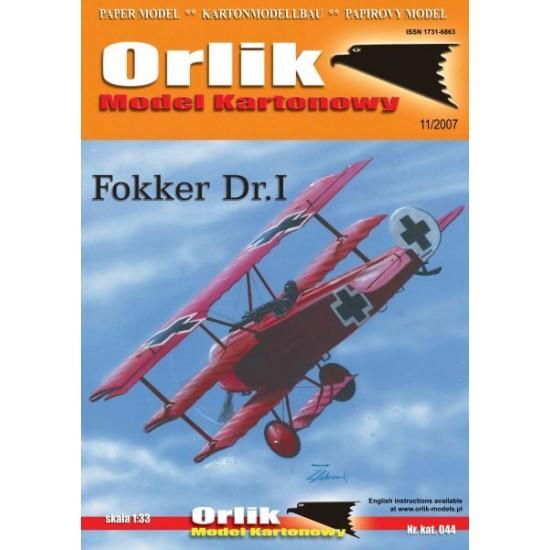 044. Fokker Dr I