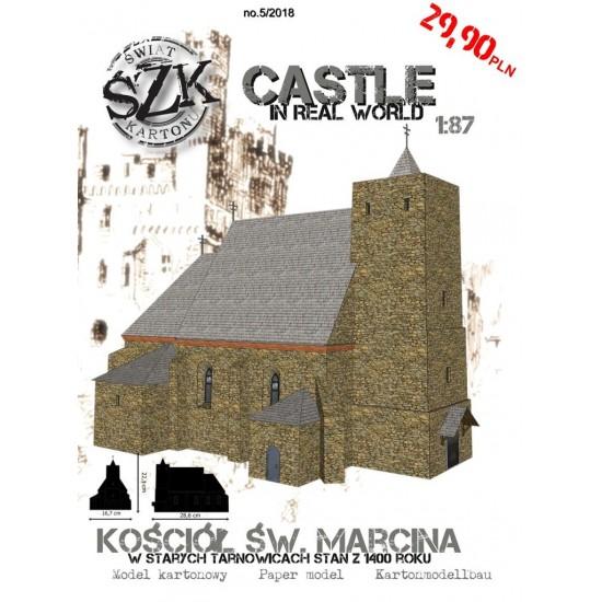 CASTLE 005 - Kościół Św. Marcina