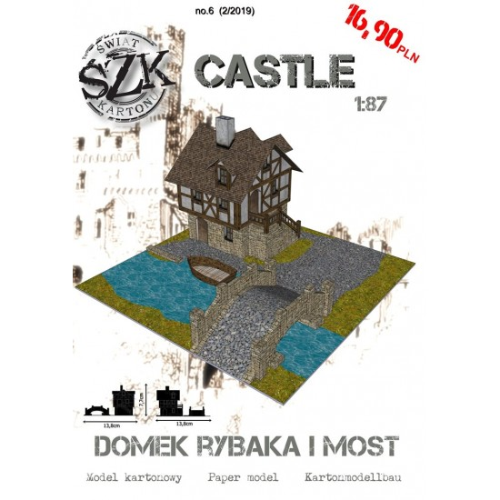 CASTLE 006 - Domek rybaka i most