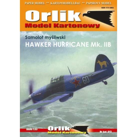 013.  Hawker Hurricane Mk.IIB