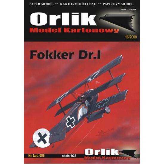056. Fokker Dr I