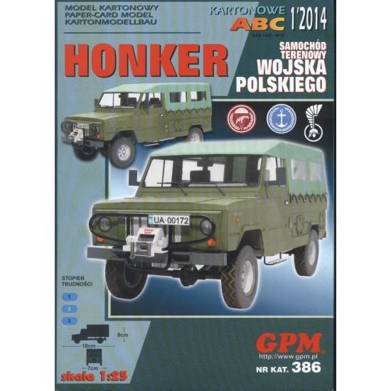 HONKER -WP + laserowo wycinane elementy