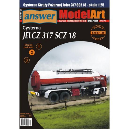JELCZ 317 SCZ 18 zestaw ciągnik i cysterna