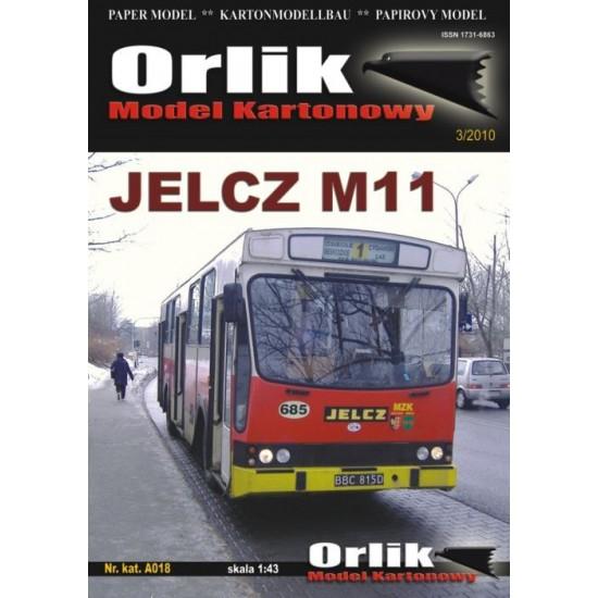A018. Autobus miejski Jelcz M11