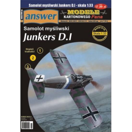 Samolot myśliwski Junkers D.I