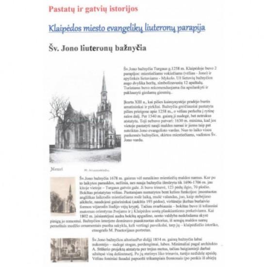Kościół św Jana Chrzciciela - Kłajpeda