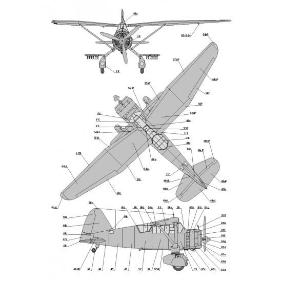 096.  Westland Lysander Mk.IIIA