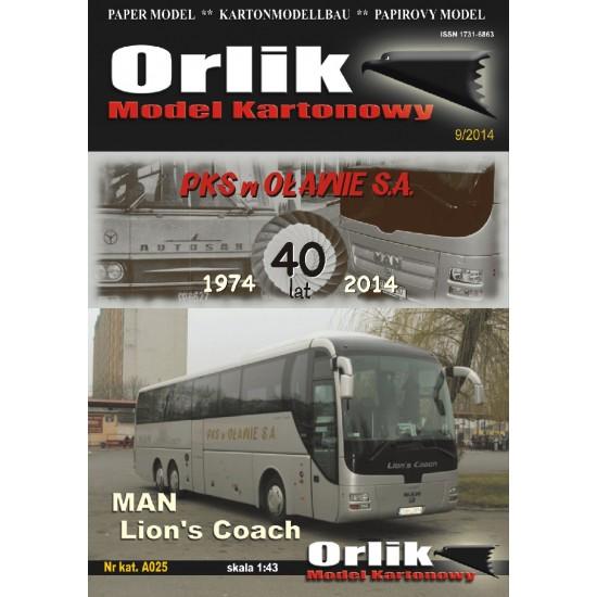 A025. Man Lions Coach