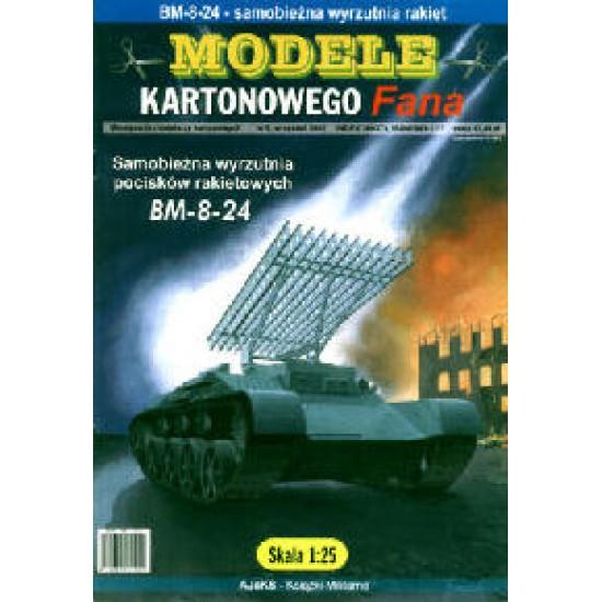 Wyrzutnia rakiet BM-8-24
