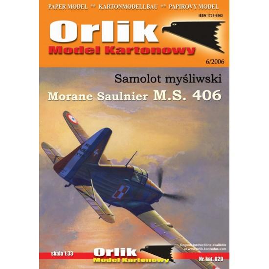 029.  Morane Saulnier MS-406