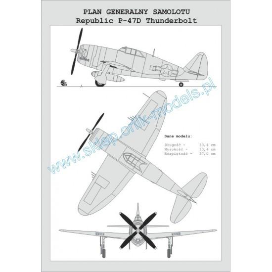 030. P-47 D-11 Thunderbolt