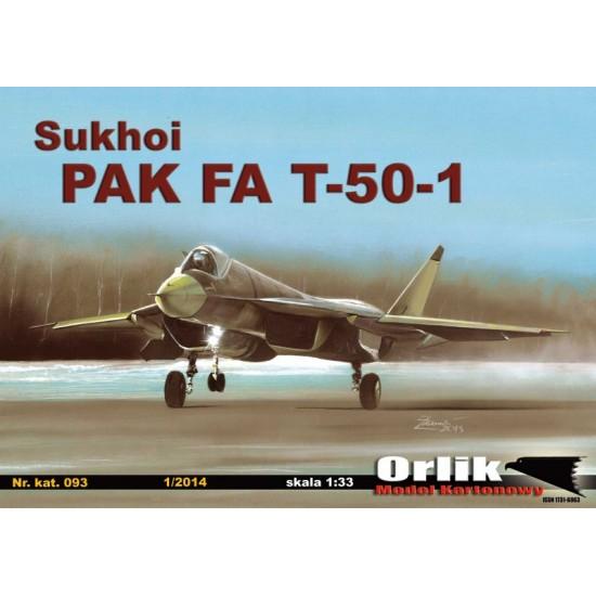 093. SUKHOI PAK FA T-50-1