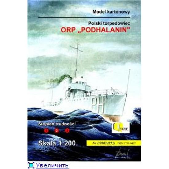 ORP Podhalanin - 1930 r