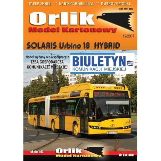 A011. Solaris Urbino 18 Hybrid