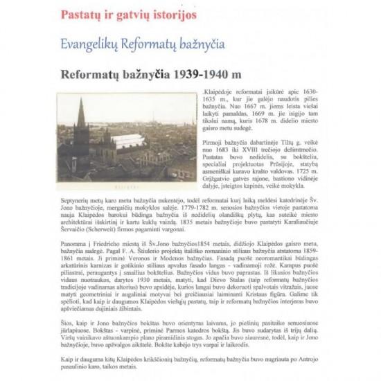 Bazylika Reformatów - Kłajpeda