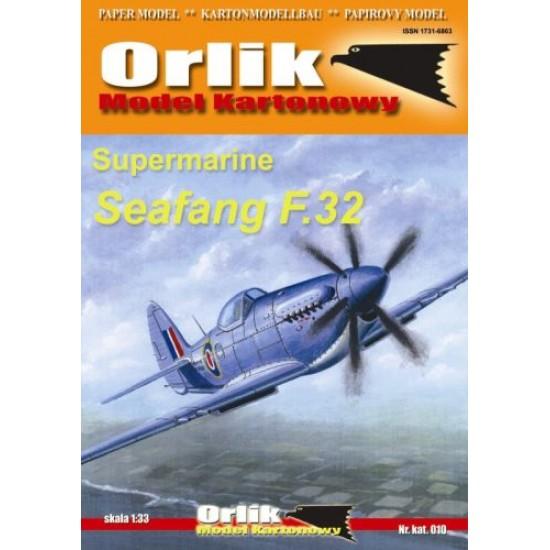 010.  Supermarine Seafang F.32