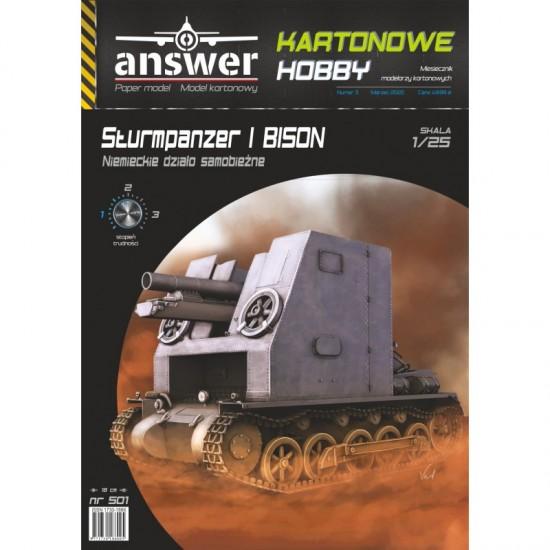 Niemieckie działo samobieżne Sturmpanzer I Bison