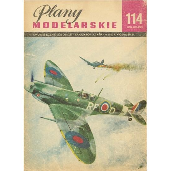 Samolot Spitfire Mk I-V