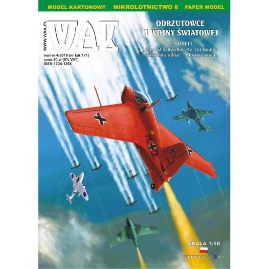 Mikrolotnictwo - 08 - Odrzutowce II Wojny Światowej