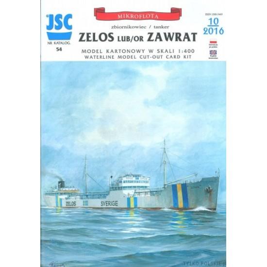 ZELOS lub ZAWRAT zbiornikowiec